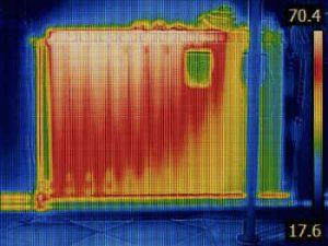 lekdetectie warmteverlies bouwkundige constructies
